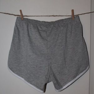 Shorts - CUTE GRAY WORKOUT SHORTS